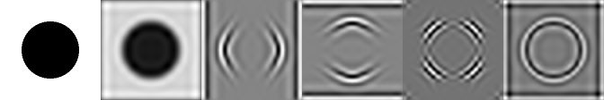 Picture of hypercomplex Wavelet decomposition